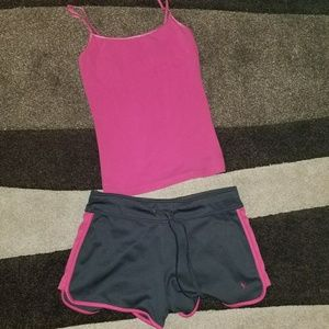 🏃♀️Athletic Pink & Black Outfit🏃♀️
